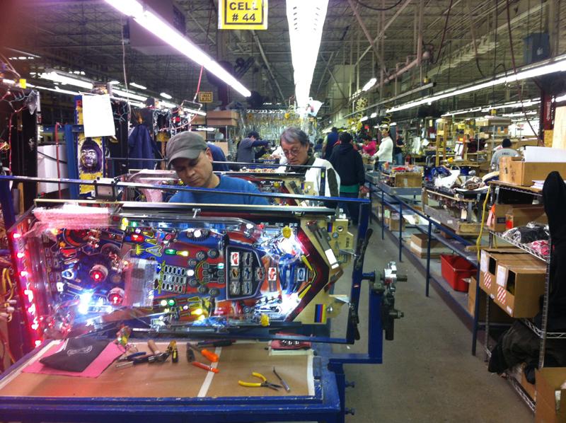 "Manufacturing ""Mustang"" at Stern Pinball"